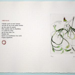image de l'estampe Abraxas