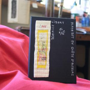 Coffret Alphabet en quête d'auteurs