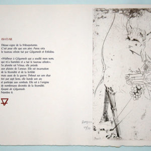Image de l'estampe Ishtar