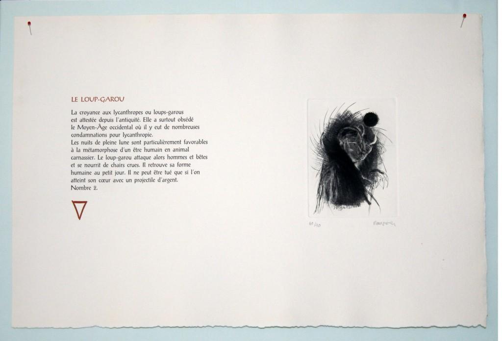 Image de l'estampe Loup-Garou