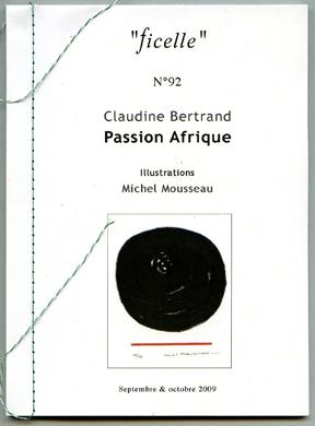 Couverture Passion Afrique Ficelle n°92